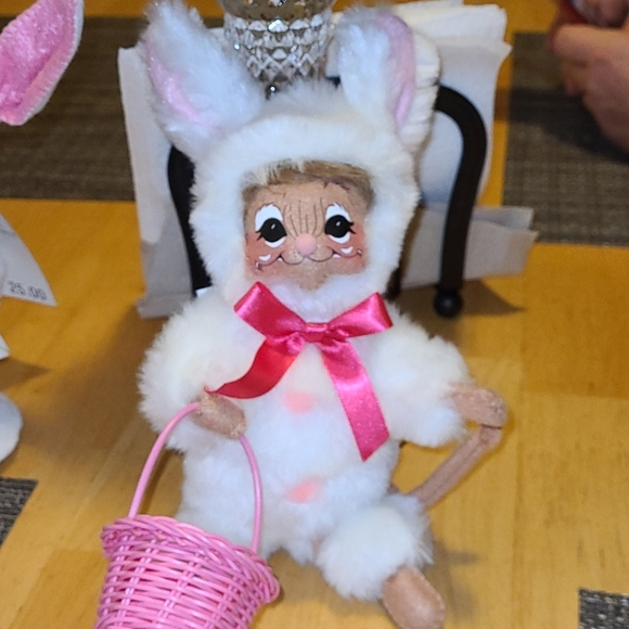 Annalee 6 inch mouse in rabbit costume